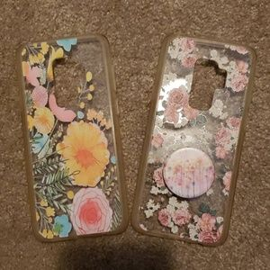 Pair of galaxy s9+ phone cases
